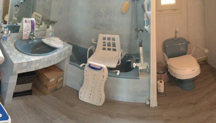 CICAT 24 Bergerac - Baignoire et WC médicalisés adaptées aux personnes handicapées ou âgées