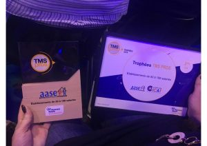L'AASE remporte le 2ème prix des Trophées TMS 2018